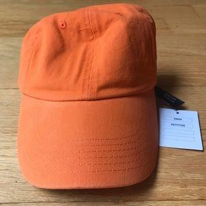 Urban Outfitters Orange Baseball Cap